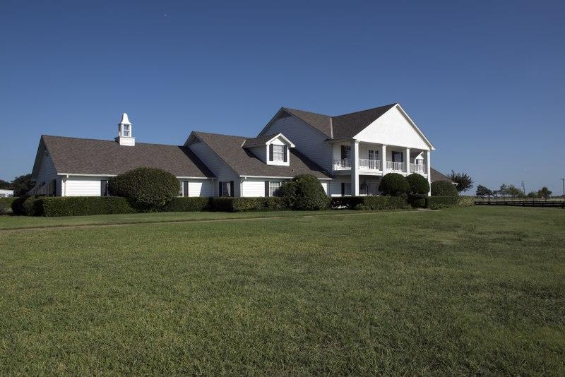 Southfork Ranch, which served as the exterior of the Ewing house, and remains a tourist attraction.