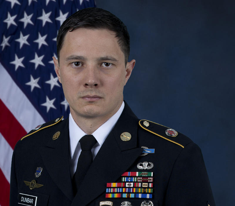 Army Master Sgt. Jonathan Dunbar was killed in Syria on March 30, 2018.