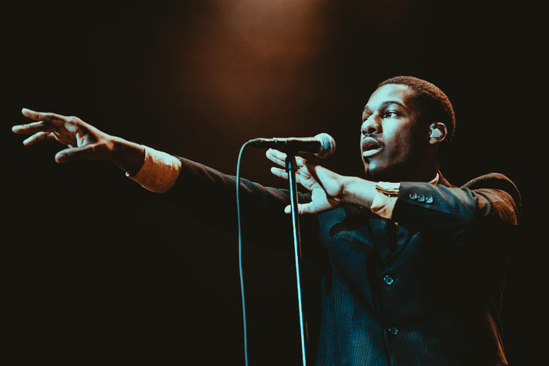 Leon Bridges performs in Dallas in 2016.