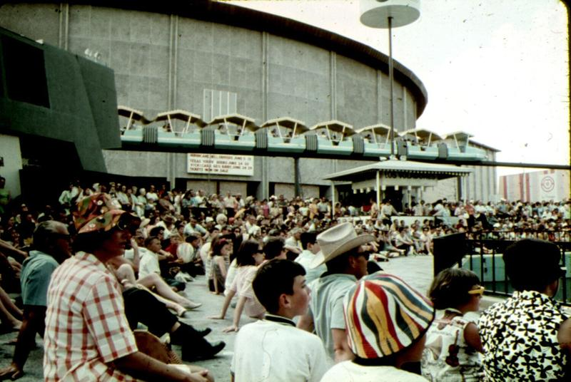 Crowds at HemisFair '68.