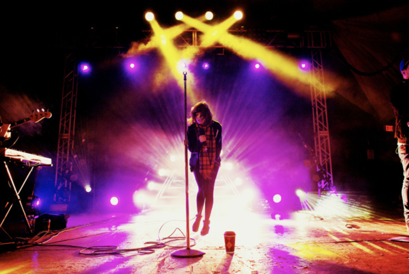 CHVRCHES perform at Stubb's in 2013. A change in city rules allows Stubb's and other outdoor music venues to have amplified music an hour later on Thursday, Friday and Saturday nights.