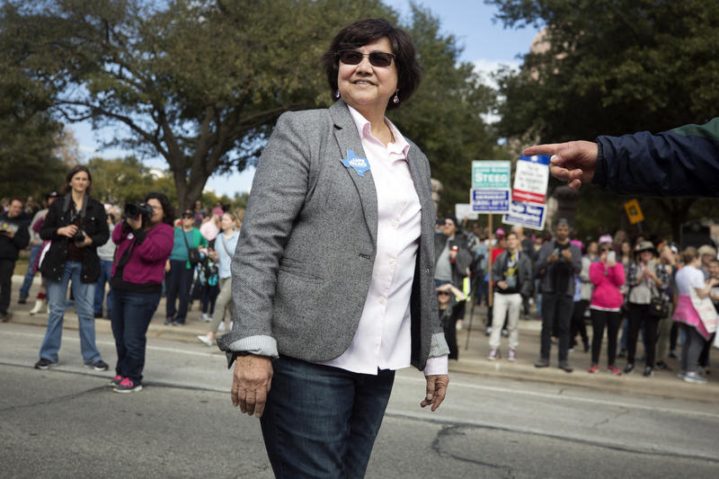 Former Dallas Sheriff Lupe Valdez has won the Democratic nomination in the race against Gov. Greg Abbott in November.