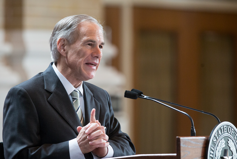 Gov. Greg Abbott's campaign has removed a shotgun giveaway from its website.