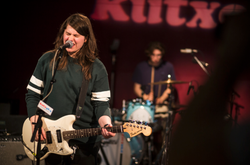 Alex Lahey performs at KUTX in November.