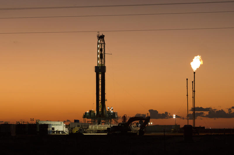 Flaring is one way oil companies prevent methane from escaping into the atmosphere.