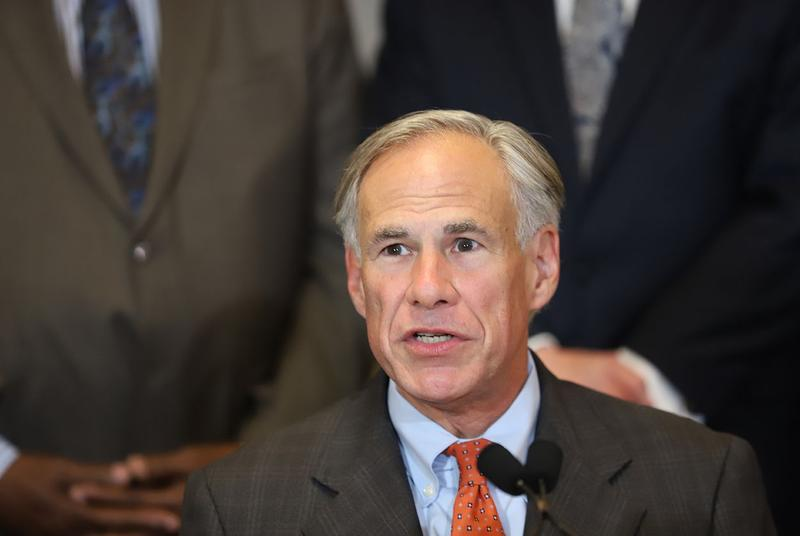 "Gov. Greg Abbott told reporters today that the state is ready for a ""replication of Hurricane Harvey."""