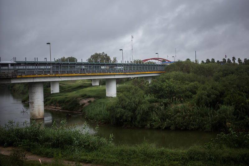 The Gateway International Bridge separates Brownsville, Texas, from Mexico.