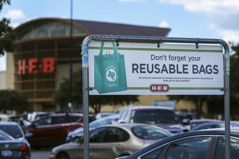 The City of Austin passed a ban on single-use plastic bags in 2013.