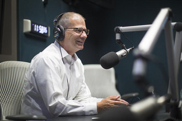 Outgoing KUT and KUTX Director Stewart Vanderwilt says he believes radio will endure in the face of new technologies because of its ease of use and wide availability.