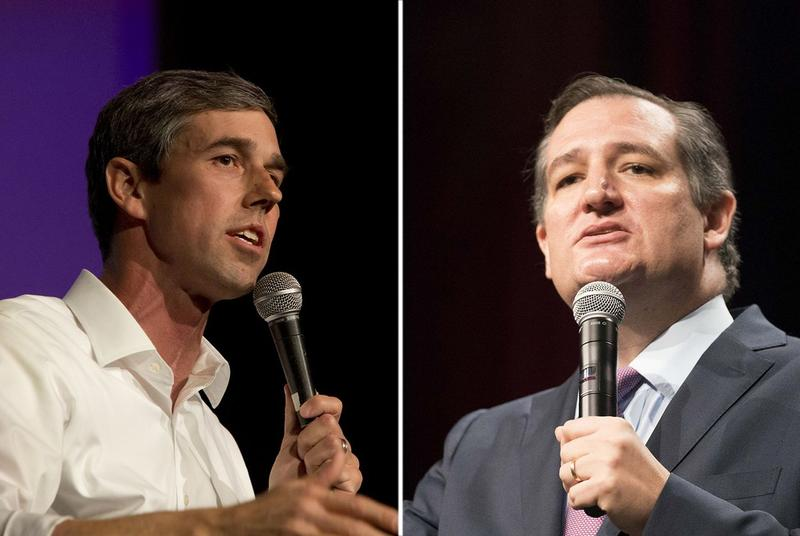 U.S. Rep. Beto O'Rourke, D-El Paso, is challenging Republican Ted Cruz for his Senate seat.