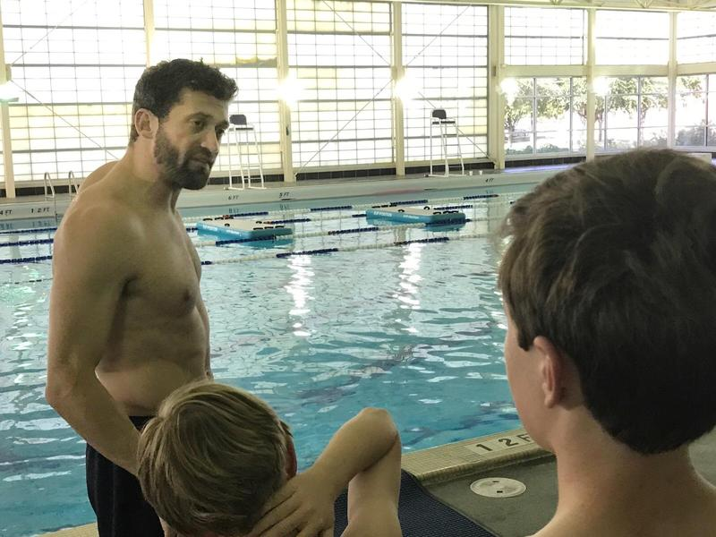 James Fike with the Fort Worth Drowning Prevention Coalition teaches swim lessons in Tarrant County.