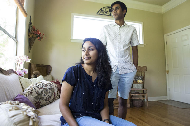 Rice University students Snigdha Banda and Raj Dalal came to Austin to study the maternal mortality crisis in Texas.