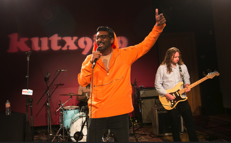 Abhi the Nomad performed this past March in the KUTX studio.
