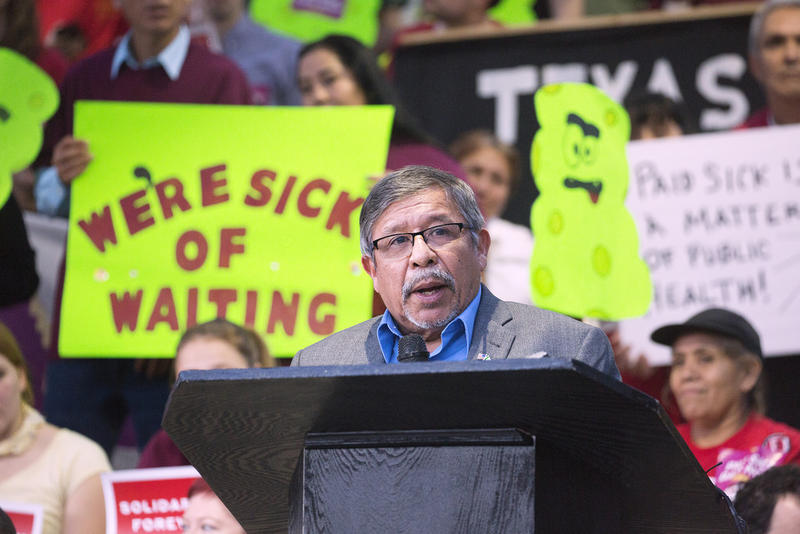 """Austin City Council Member Sabino """"Pio"""" Renteria was among those who pushed for the city's paid sick leave ordinance."""