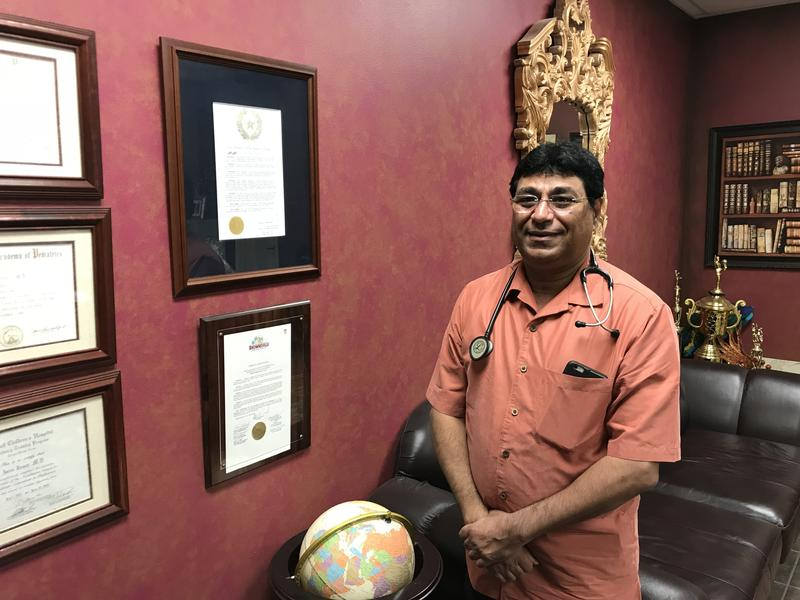 Brownsville Pediatrician Asim Zamir started bringing mental health care services into his clinic over a decade ago. He says there's a need especially because of limited access to psychiatrists and rising rates of suicide among kids.