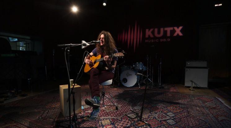 Kurt Vile performs in studio at KUTX in 2016.