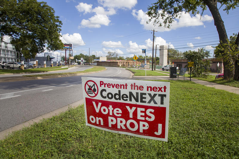 Proposition J would require any comprehensive changes to Austin's land-use code to be put to a public vote.