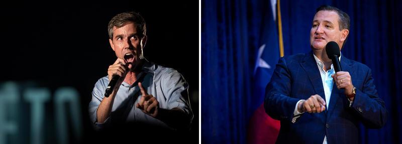 U.S. Rep. Beto O'Rourke will debate Sen. Ted Cruz tonight in San Antonio.