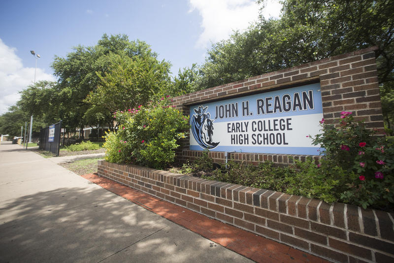 One of the new names proposed for John H. Reagan Early College High School is Barack H. Obama.
