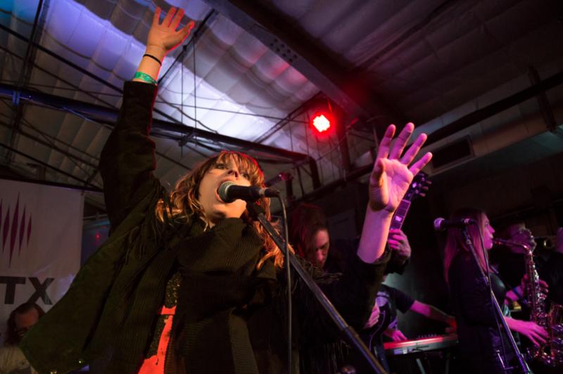 Sweet Spirit performs at ABGB in 2016.