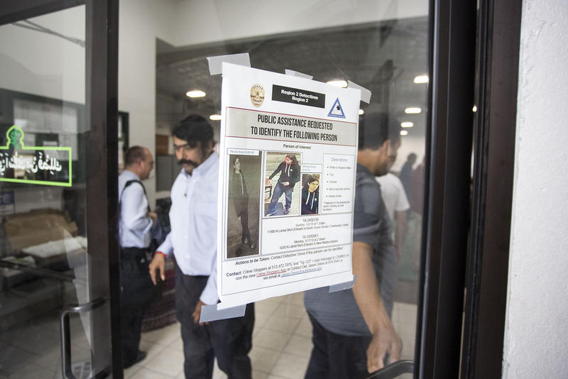 The North Austin Muslim Community Center was vandalized twice last month.