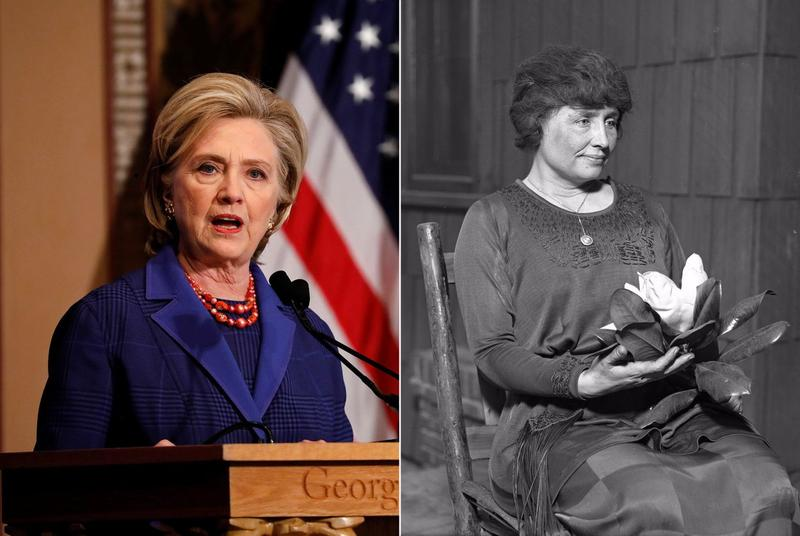 The Texas State Board of Education is debating whether to include former Secretary of Stat Hillary Clinton and author and political activist Helen Keller in the state's third-grade social studies curriculum.