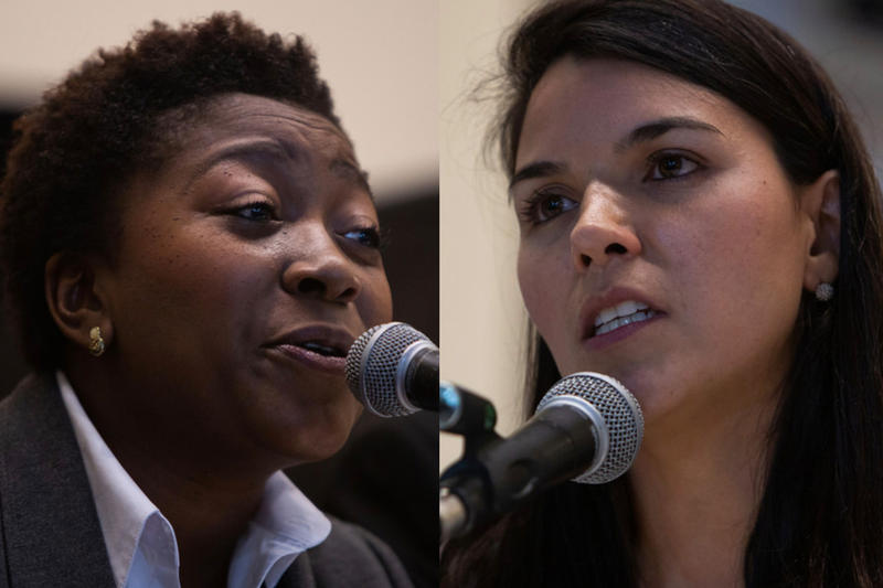In the race for Austin City Council District 1, Natasha Harper-Madison and Mariana Salazar are separated by less than a percentage point.