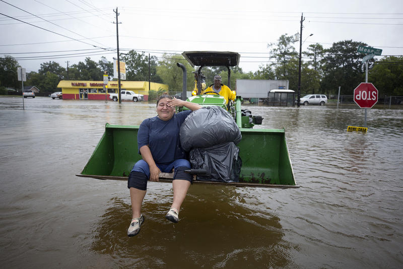Climatologists say Texas will see more heavy rain events like Hurricane Harvey, which devastated Houston last year.