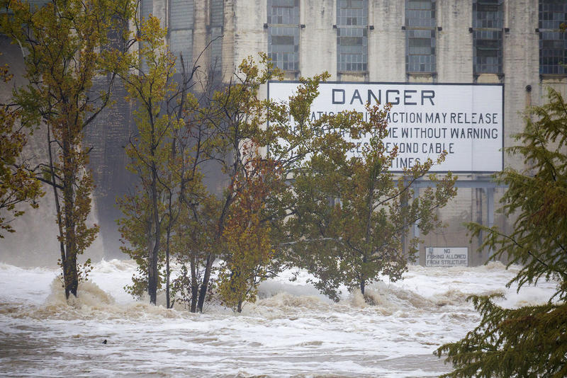 The city issued a boil-water order after historic flooding overwhelmed water-treatment plants.