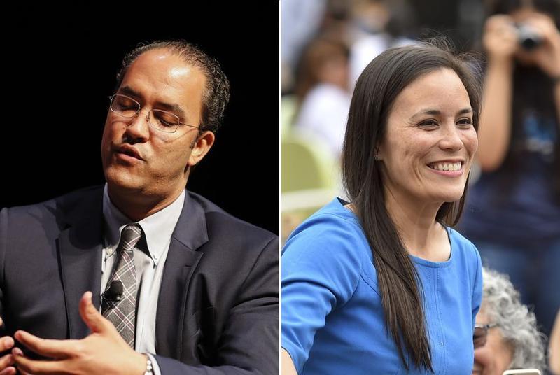 Will Hurd and Gina Ortiz Jones