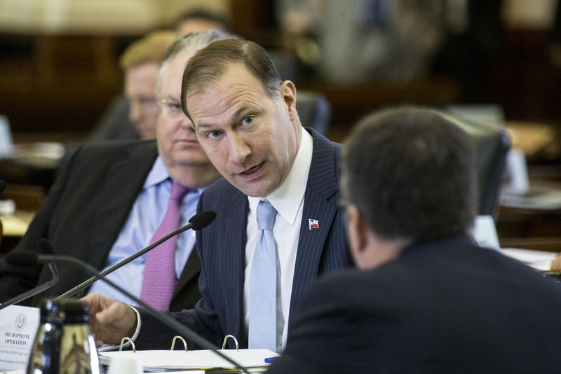 State Sen. Charles Schwertner at a committee hearing in 2017.