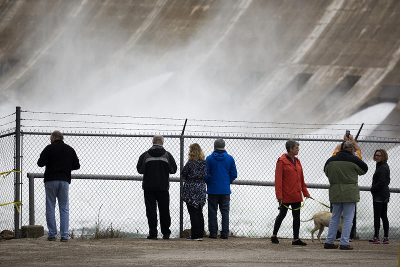 The city's water-treatment systems couldn't keep up with the amount of water flowing into Lake Travis after heavy rains in October.