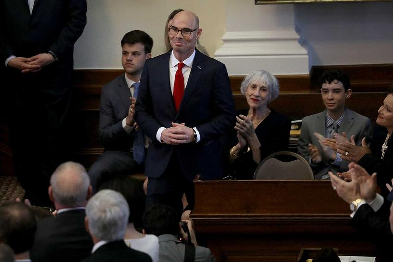 Dennis Bonnen (R-Angleton), the CEO of Heritage Bank in Pearland, has been elected speaker of the Texas House.
