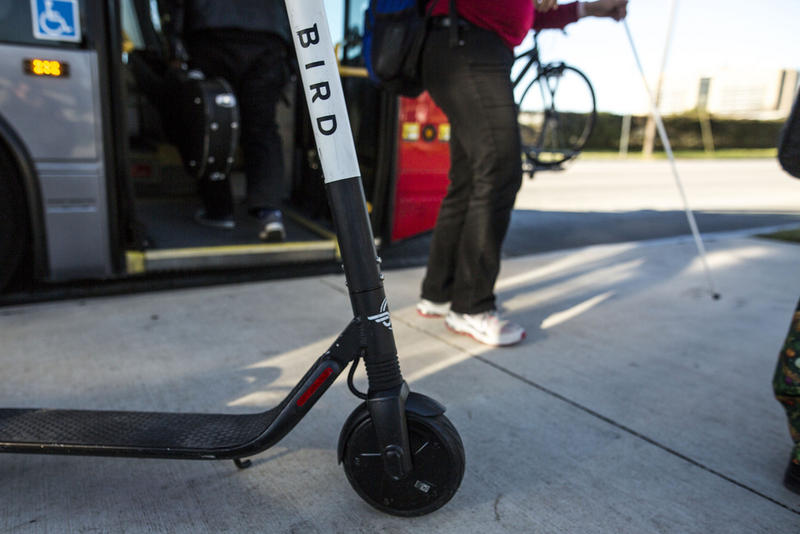 People who have visual impairments run the risk of tripping over dockless scooters when they block city streets.