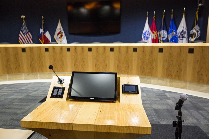 If you want to testify before City Council, you'll need to sign up first.