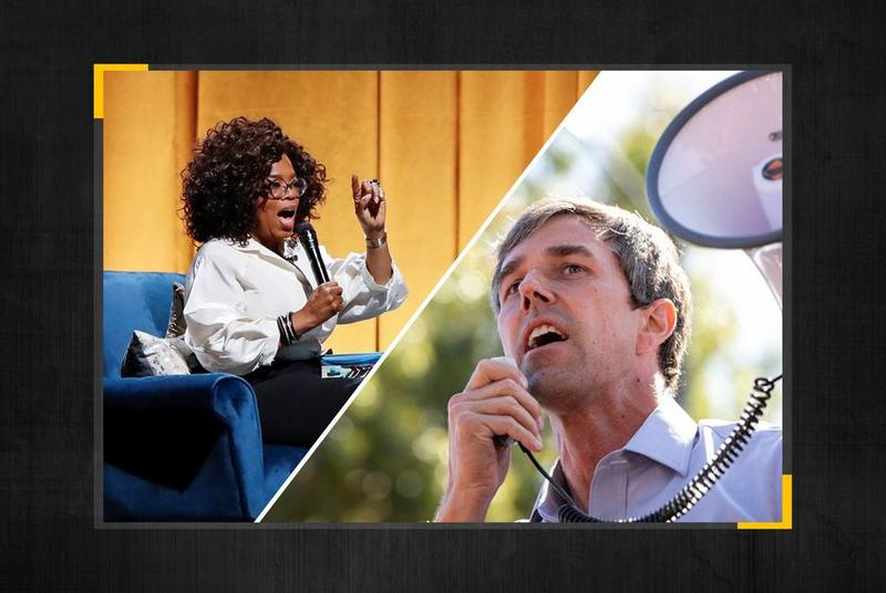 Beto O'Rourke told Oprah Winfrey on Tuesday that he's given himself until the end of the month to decide on a presidential run.