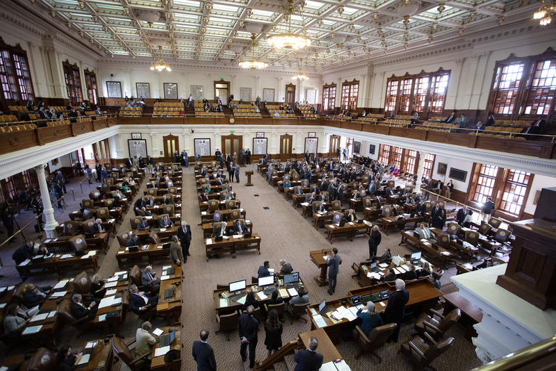 The Texas House of Representatives convenes on the second day of the 2019 legislative session last month.