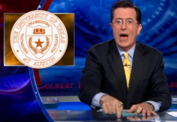 A UT chapter of the Colbert Super PAC was announced yesterday.