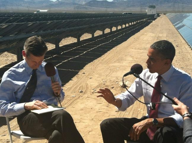 Pres. Obama sits down with Marketplace host Kai Ryssdal