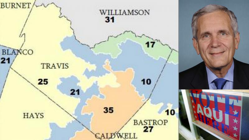 Newly drawn District 25, where Rep. Lloyd Doggett is thought to run, is receiving further federal scrutiny.