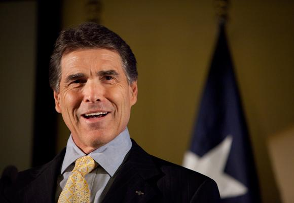 "Gov. Perry called on legislators to back his ""Budget Compact"" today."