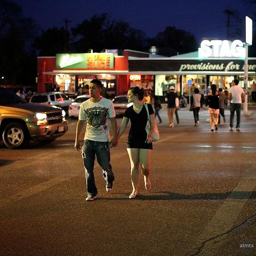 Pedestrians crossing South Congress will soon have less unprotected space to navigate.