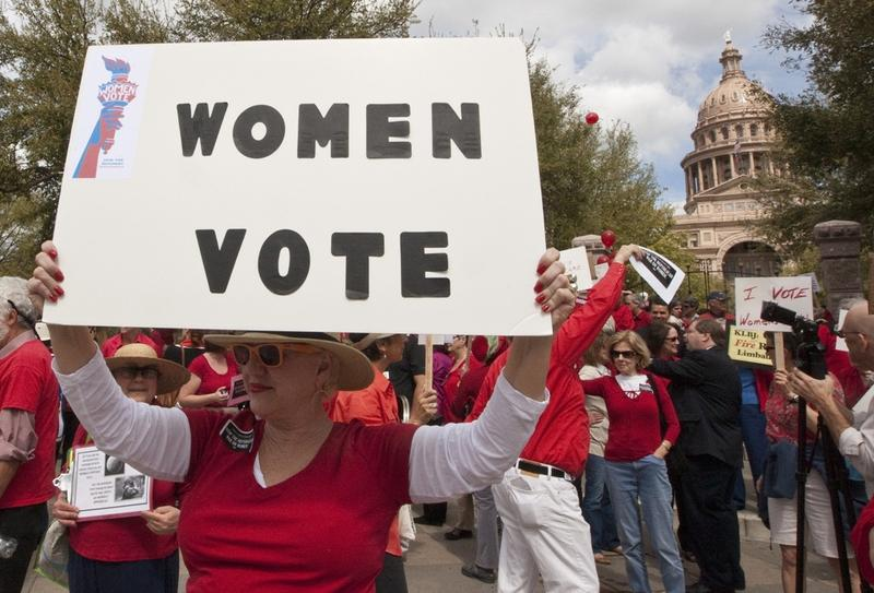 March 6th, 2012: Protest against Texas lawmakers decision regarding changed to the the Women's Health Program. the federal government is expected to cut funding for the program because Texas improperly excluded Planned Parenthood