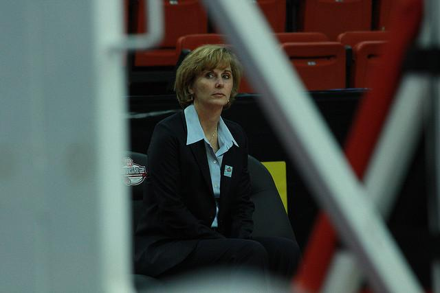 """Coach G"" announced her departure, effective this week."