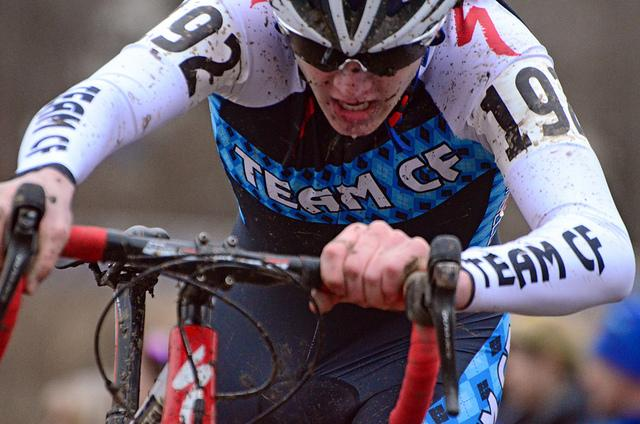 Cyclo-cross racing involves going off road, so cyclo-bike tires are wider than usual bikes.
