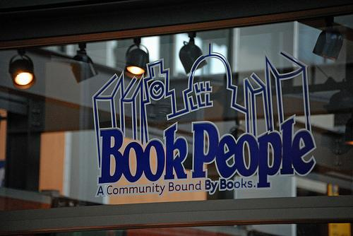 Local bookstore Book People regularly hosts authors and community events.