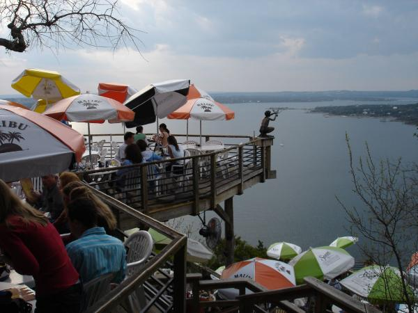 Austinites love getting a view of the lake while enjoying their favorite local cuisine.