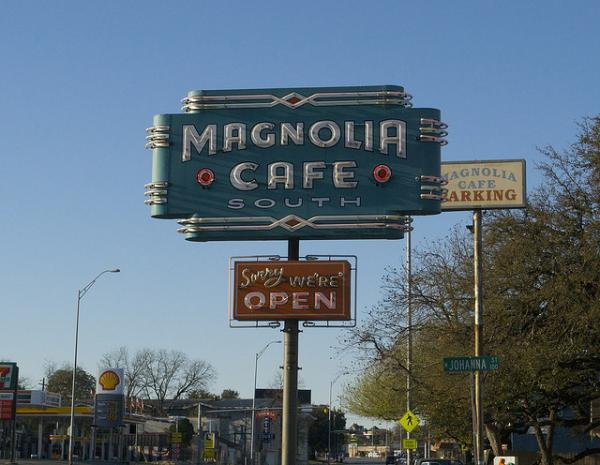 Magnolia's is one of the popular 24-hour restaurants in town.