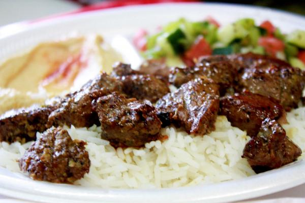 Lamb mashawi is one of the many dishes Kismet Cafe has to offer.