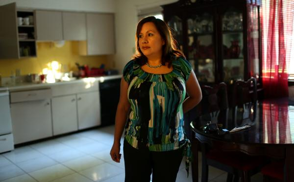 Frances Acuña is one of thousands in Dove Springs who will seek mental health services at an intergrated care clinic opening in November 2013.